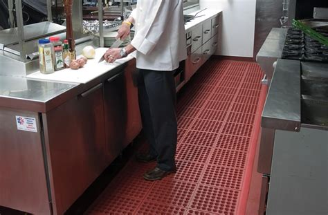 Notrax Cushionease  Nonslip Rubber Kitchen Matting