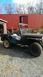Unmolested 1947 Willys Jeep Cj2a