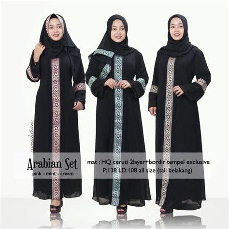 Abaya Gangga Set Celana jual abaya arab gamis wanita arabian set original di lapak