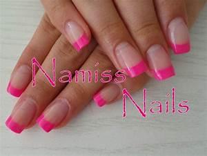 Ongles En Gel Rose : french rose fluo vos ongles ma passion ~ Melissatoandfro.com Idées de Décoration