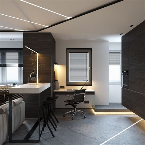 open layout apartments   clever space saving