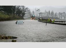 Cumbria and Lancashire get more than a month's rain in a