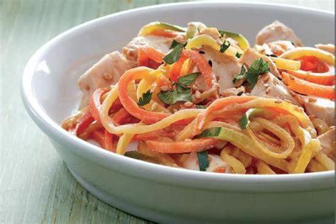 cuisiner le poulet en sauce les meilleurs idées recettes avec un spiraliseur à fruits