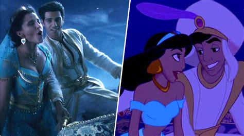 aladdin la comparaison entre la version   le film