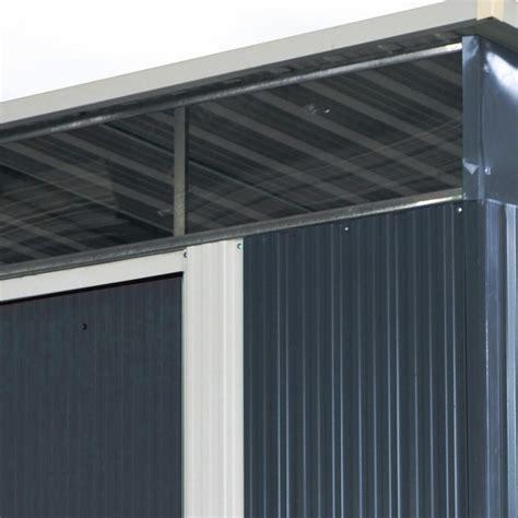 Aus Metall by Gartenhaus Aus Metall 6 67m 178 Skylight Anthrazit