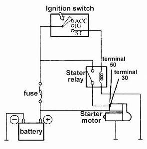 how to wire a relay to a starter motor impremedianet With basic relay control