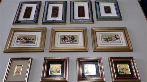 quadri artistici da parete dipinti su foglia oro ed argento catawiki