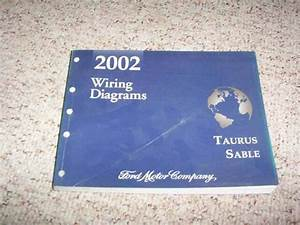 2002 Mercury Sable Electrical Wiring Diagram Manual Gs Ls