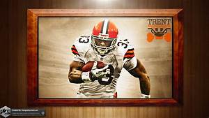Trent Richardson Browns HD Wallpaper by Chadski51 on ...