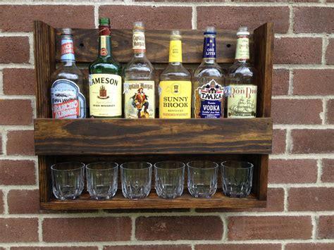 liquor cabinet hanging  rustic  coolandusefulthings