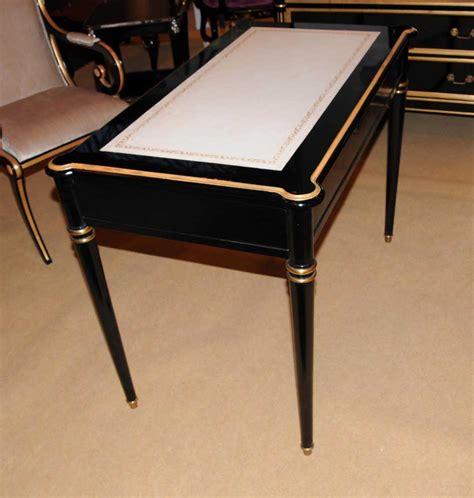 Black Writing Desk Uk by Regency Black Lacquer Writing Desk Chair Set Ebay