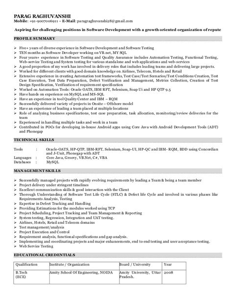 Airline Resume Sleairline Resume Sle by Parag Raghuvanshi Resume Airlines