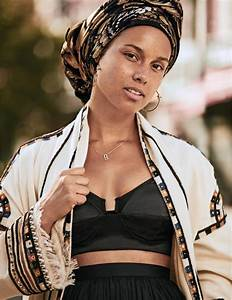 Alicia Keys Lands Her Second Make Up Less Cover Check Out