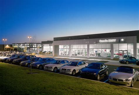 bmw dealership cars jon anderson architecture