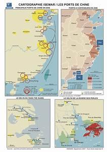 Chine Grands Ports Carte