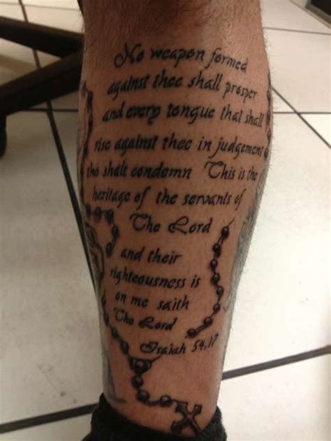 bible themed tattoos