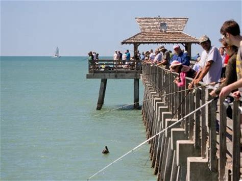 The Naples Municipal Beach & Fishing Pier is one of the