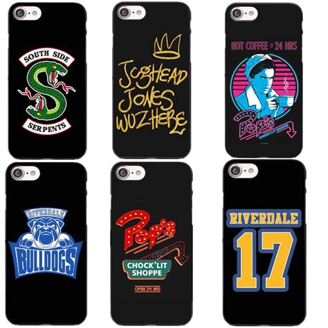 american tv riverdale jughead hard pc phone case fundas  iphone        se