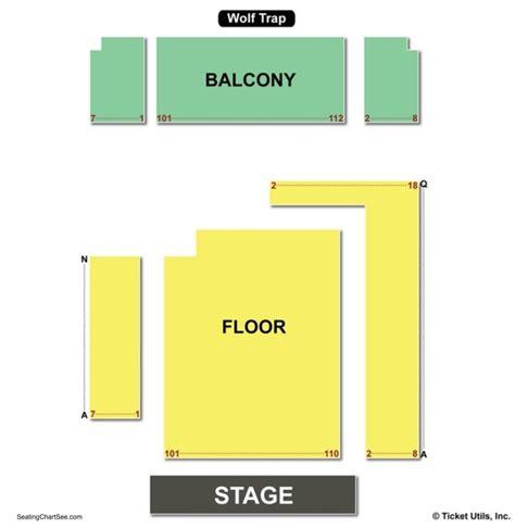 filene center seating chart wolf trap wolf trap seating chart seating charts and tickets 49105