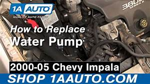 How To Replace Engine Water Pump 00