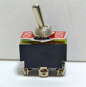 1 Piece Dpdt Toggle Switch Center Off 12 Volt 6 Pin 6 Amp