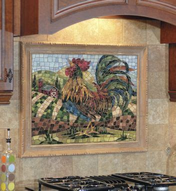 how to install a backsplash in the kitchen custom faux mosaic backsplashes by the clay palette 9752
