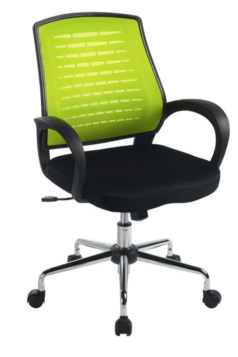 carousel lime green mesh office chair