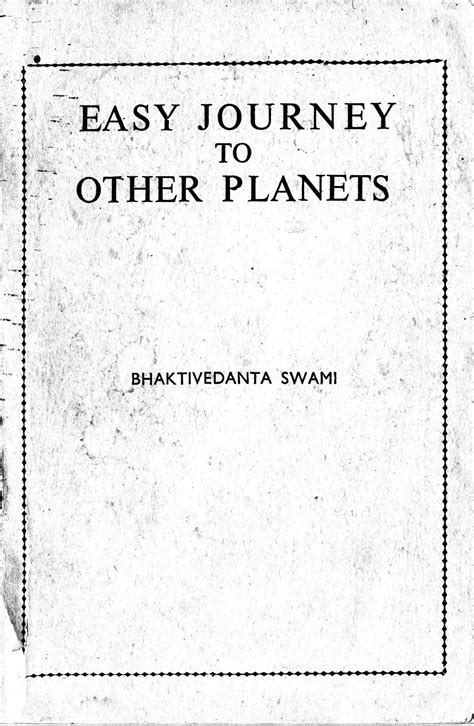 Easy Journey to Other Planets Original Indian Edition PDF