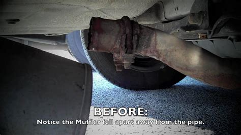 Honda Accord Muffler Repair Youtube