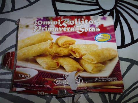 las recetas de yoli  mini rollitos primavera  setas