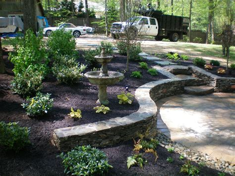 stone walls divine landscaping