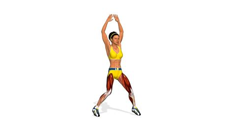 Esercizi per bruciare grassi: Jumping Jacks - YouTube