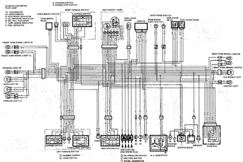 Ch 250 Electrical Wire Diagram by 1989 Gsxr1100 Wiring Diagrams Diagnose And Troubleshoot