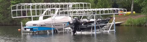 Boat Docks For Sale Mn by Custom Portable Boating Docks And Lifts Wi 800 646 4089