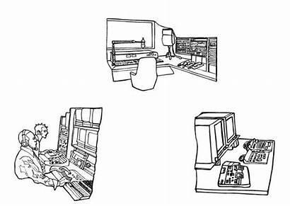 Coloring Studio Television Estudio Pages Designlooter