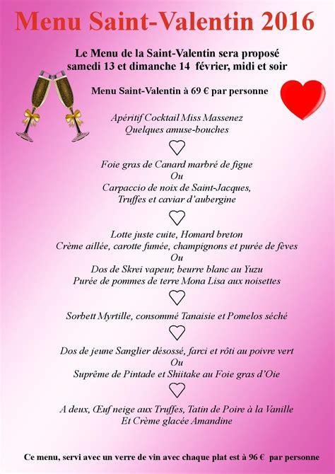 cuisine du bonheur fr menu valentin organisez votre repas en amoureux