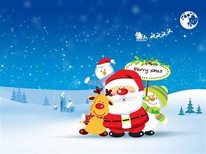 Cute Merry Christmas Wallpaper - HD Wallpapers