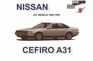 Nissan - Cefiro A31 Car Owners Manual