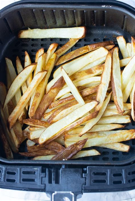fries fryer air french frozen fresh basket cook cooking fryers different many temperatures end type timer cooked