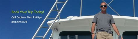 The Destination Crab Boat Captain by Destin Charter Boat Destination Captain Stan Phillips