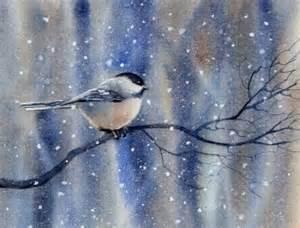 Barbara Fox Watercolor Bird Paintings