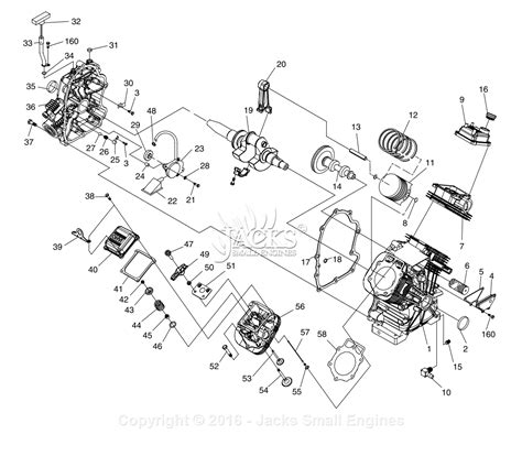 generac 4987 0 parts diagram for gt990 gt760 engine page 1