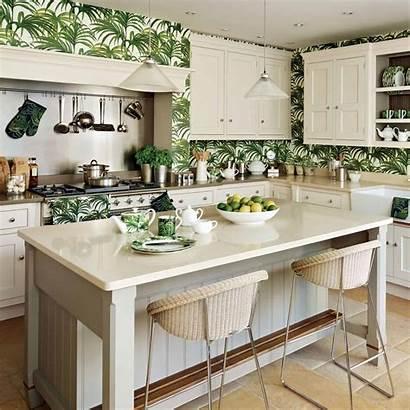 Kitchen Tropical Cabinets Kitchens Wall Interior Decor