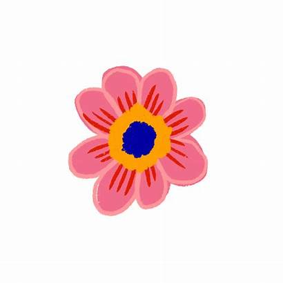 Flower Blooming Animated Gifs Sticker Giphy Illustrations