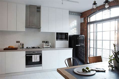 define cuisine industrial loft apartment by olivier burns