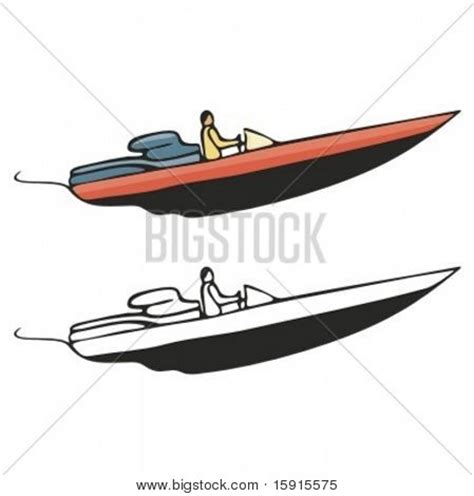 Motor Boat Vector by Speed Boat Images Stock Photos Illustrations Bigstock