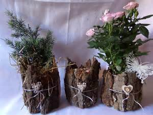 holz basteln diy deko gefäß vase steckgefäß aus holz einfach selber basteln upsycling dosen deko