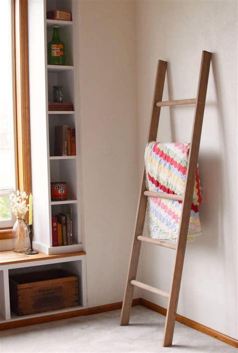 fabriquer un valet de chambre échelle salle de bain étagère ou porte serviettes en 20