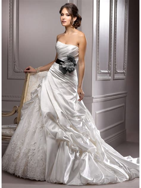 30 black and white wedding dresses combination fashion