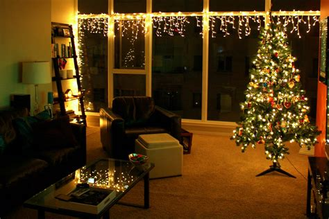 christmas tree in the living room living room christmas lights in our living room are our window lights and our main tree